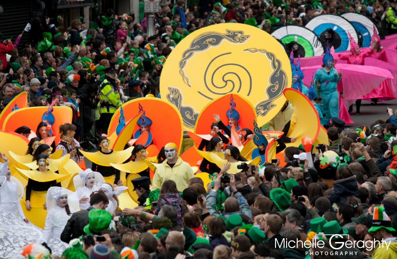 St. Patrick's Day Festival, Dublin, Ireland