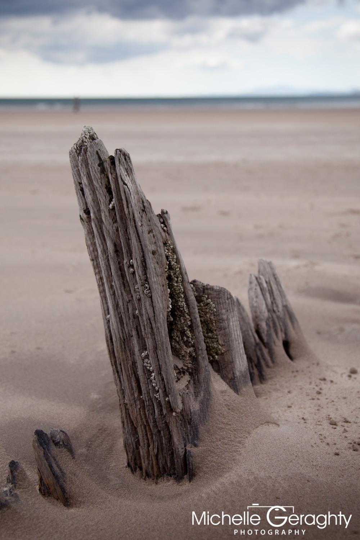 'Sunbeam' Shipwreck on Rossbeigh Beach, Co. Kerry, Ireland