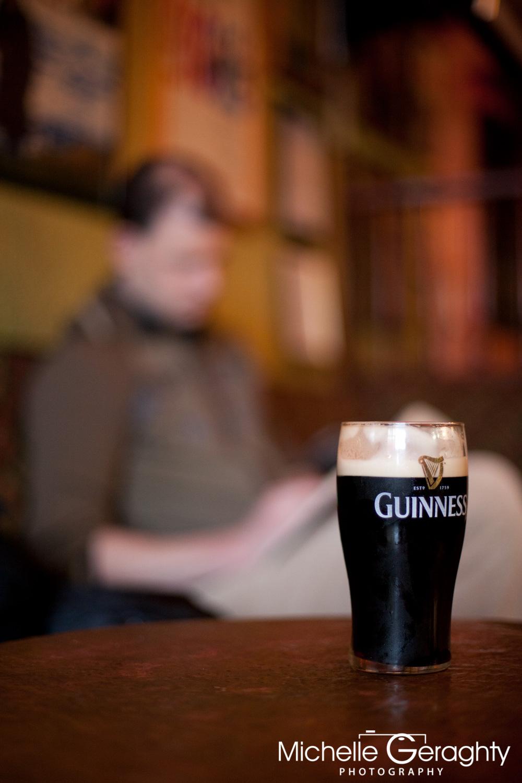 Guinness at John B Keane's Pub, Co. Kerry, Ireland
