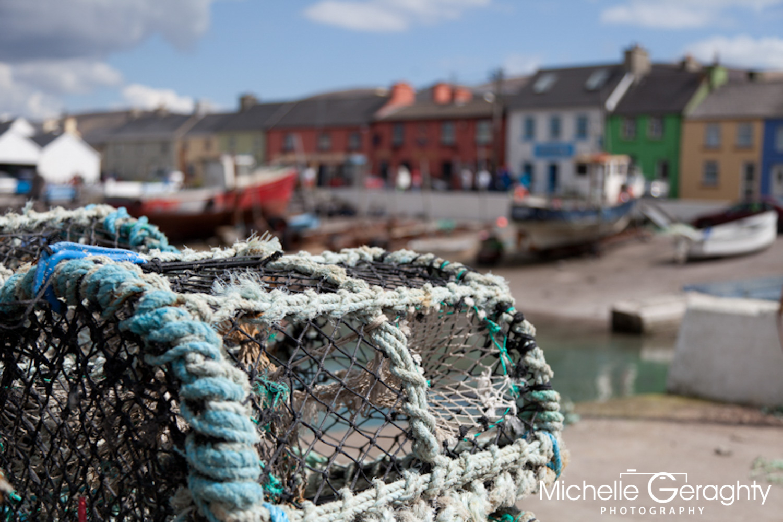 Portmagee Fishing Village, Co. Kerry, Ireland
