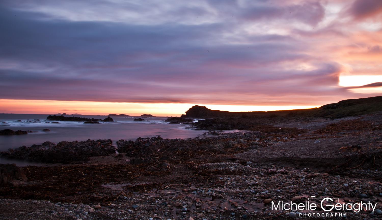 Sunrise over Malin Head, Co. Donegal, Ireland