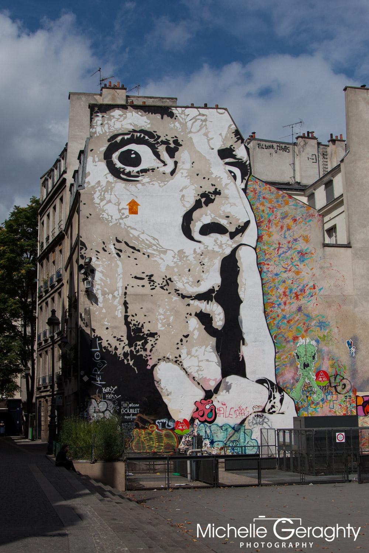 Graffiti Wall, Paris, France