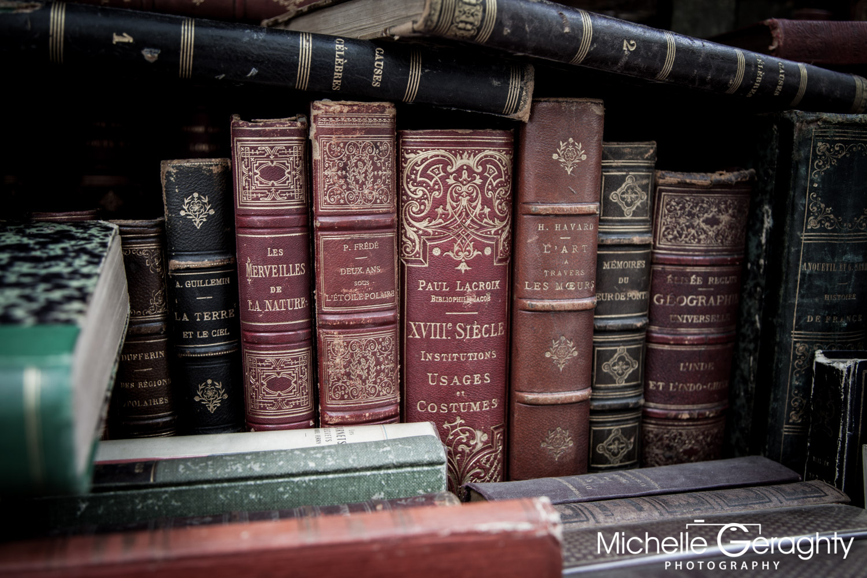 Street Book Stall, Paris, France