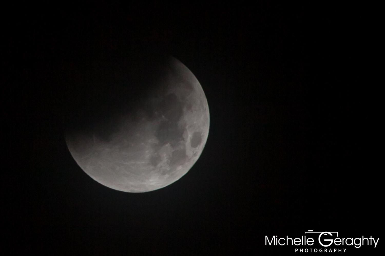 Super Moon Lunar Eclipse 2015 - Stage 2