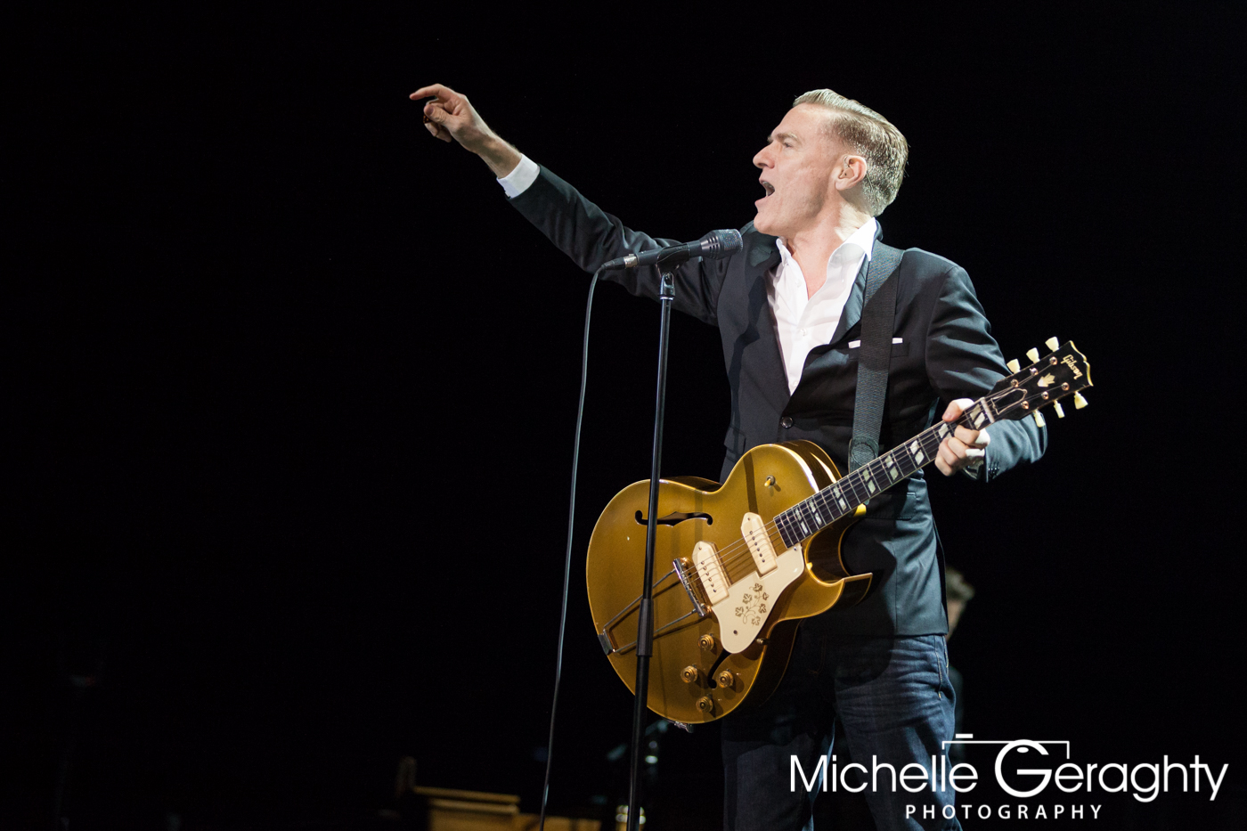 Bryan Adams at the 3Arena, Dublin, Ireland