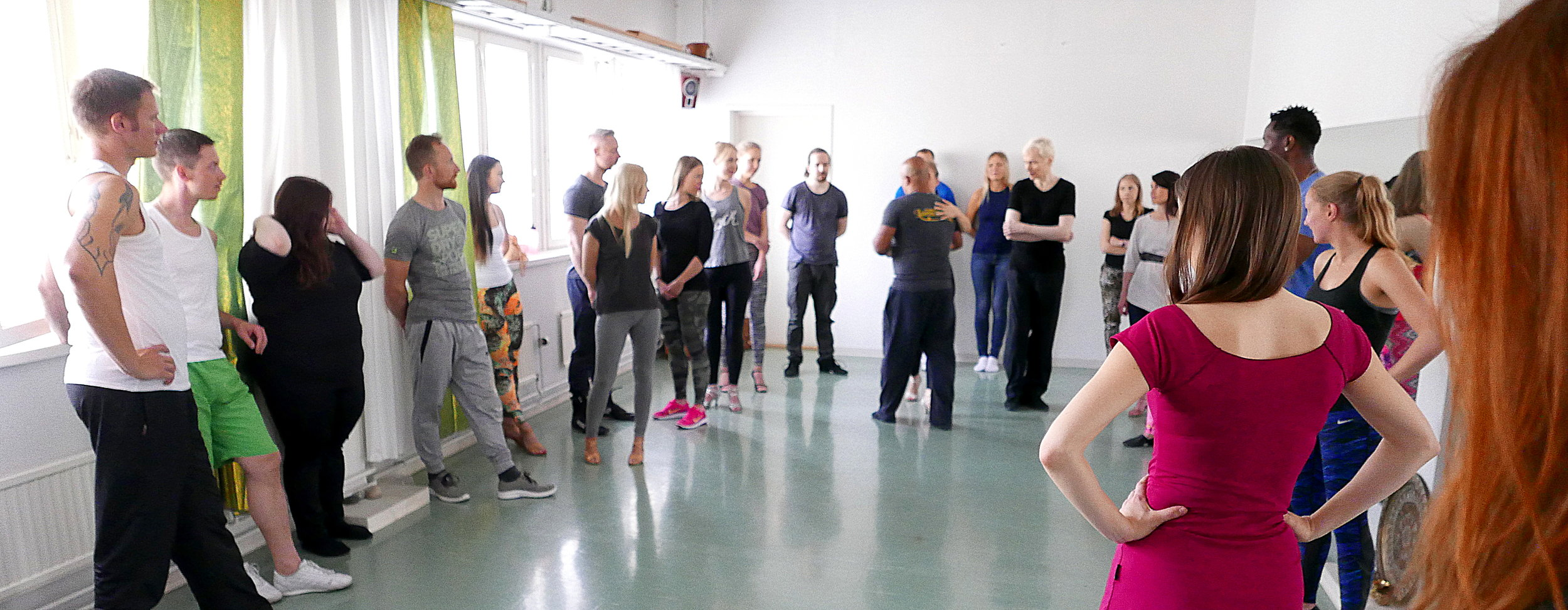 Our biggest class yet this June! This autumn we are focusing on classes & workshops with small groups :)