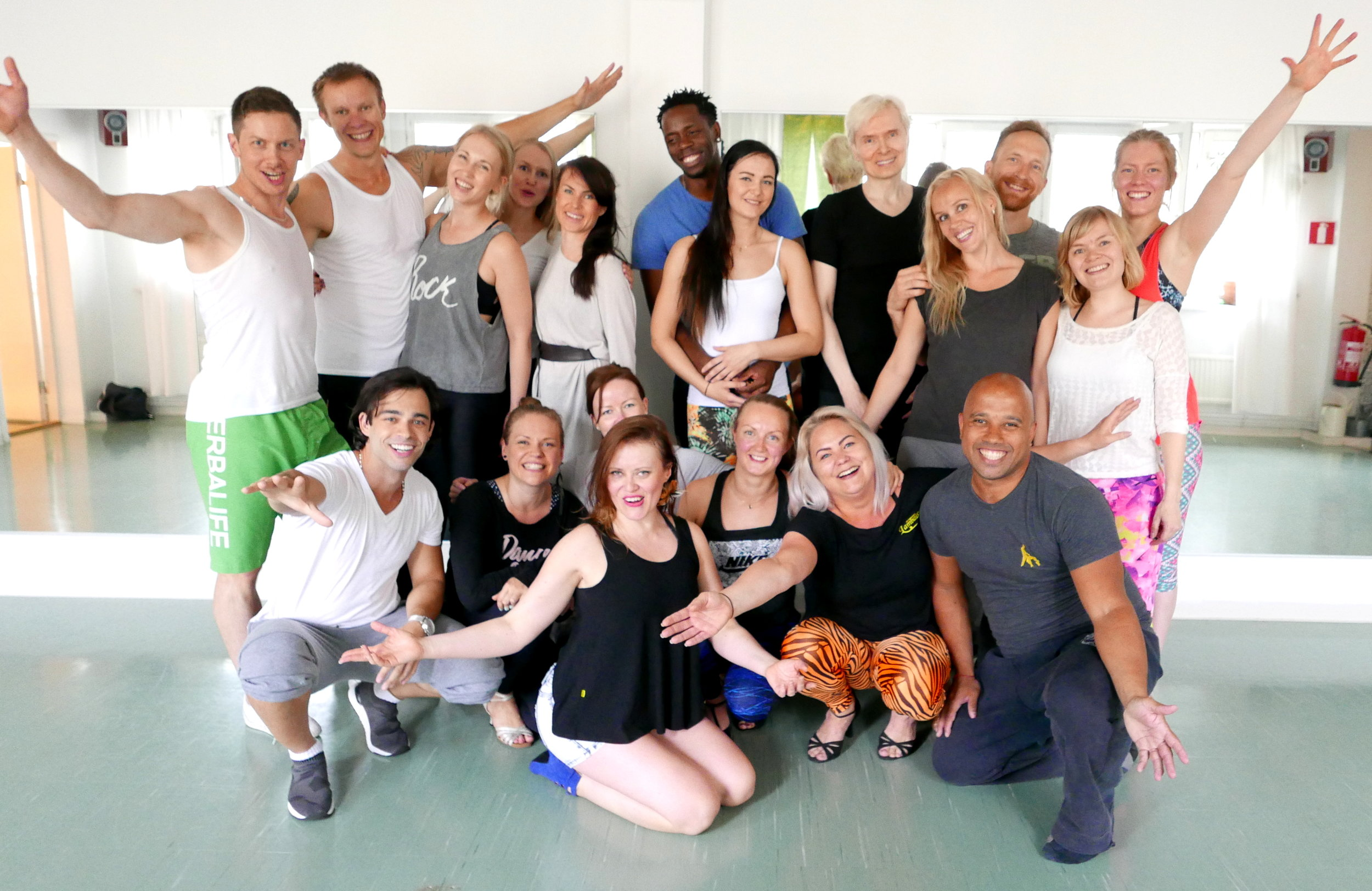A moment from the end of our summer classes - looking forward to more smiles like these this autumn too!!