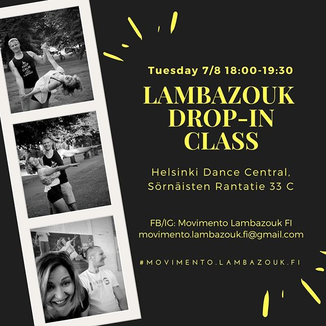 Remember tonight's Lambazouk Drop-In!