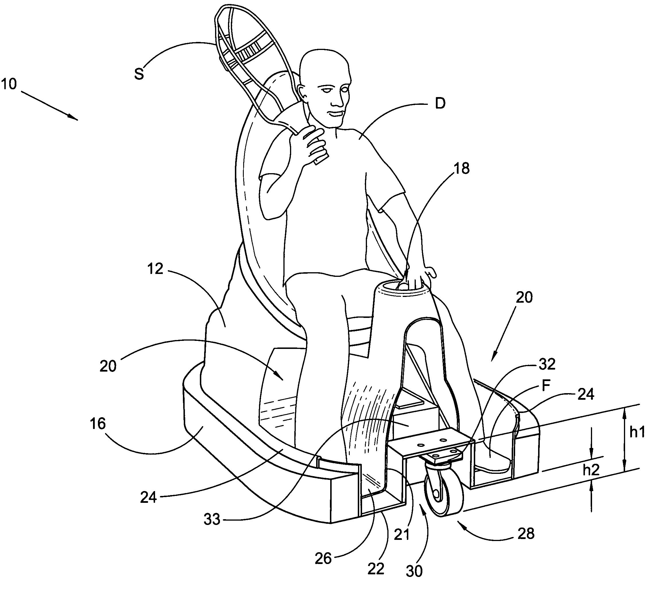 Bumper Car patent illustration from  patents.google.com