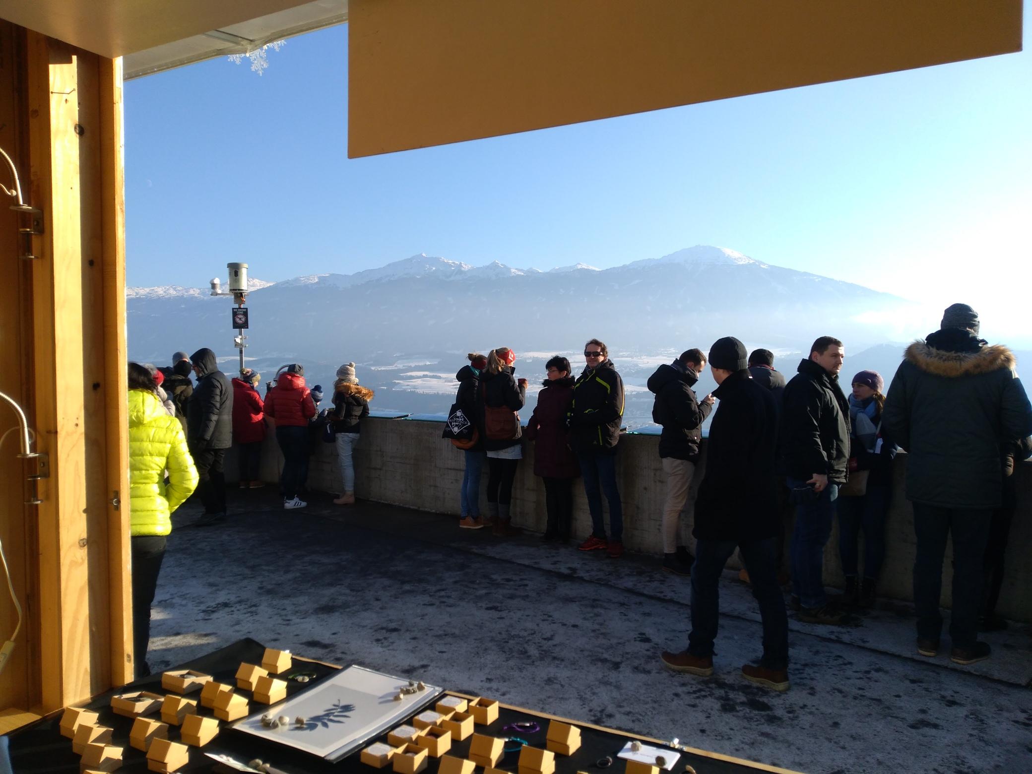 Christkindlmarkt Hungerburg in Innsbruck, Tyrol