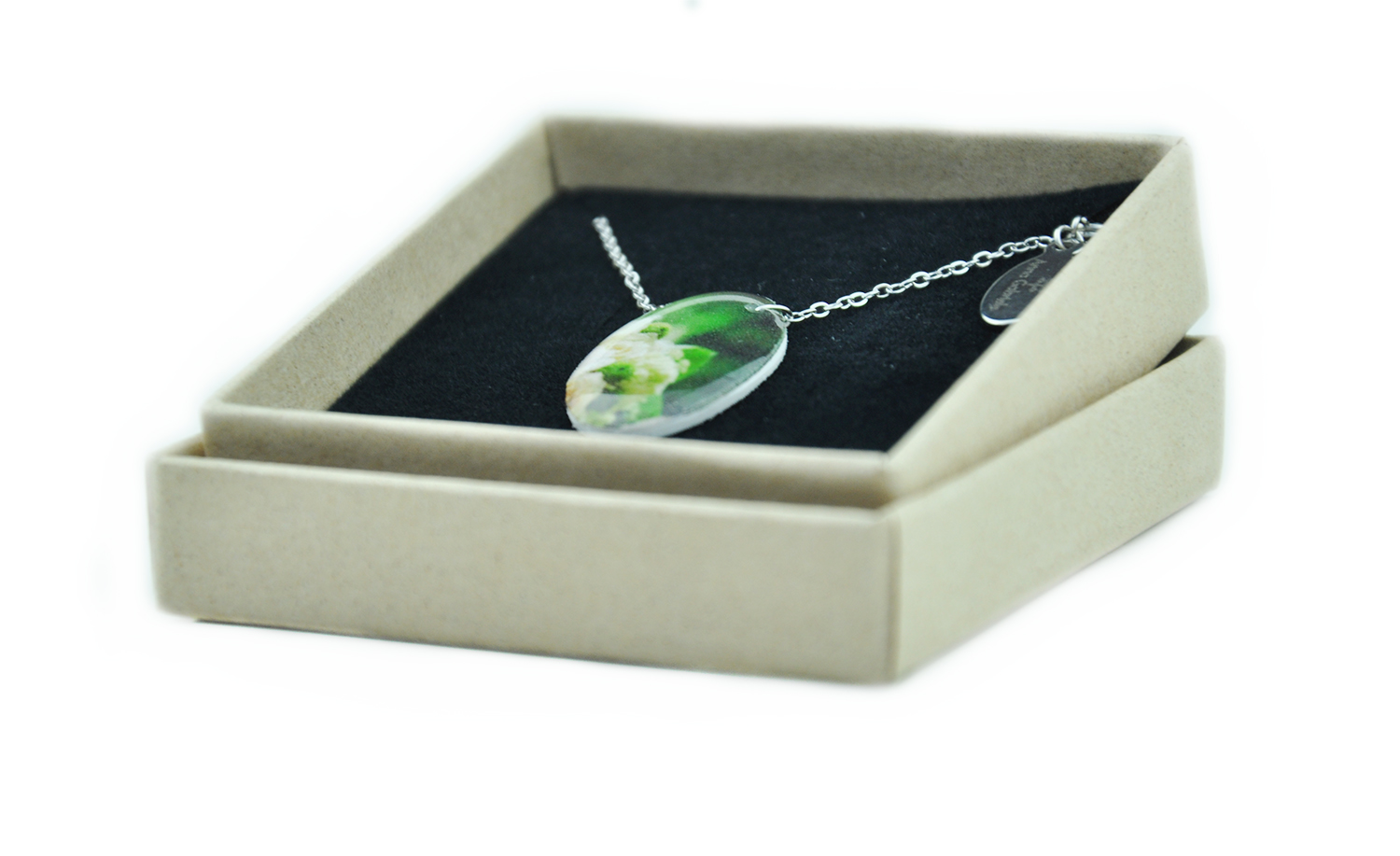 Necklace, stainless steel