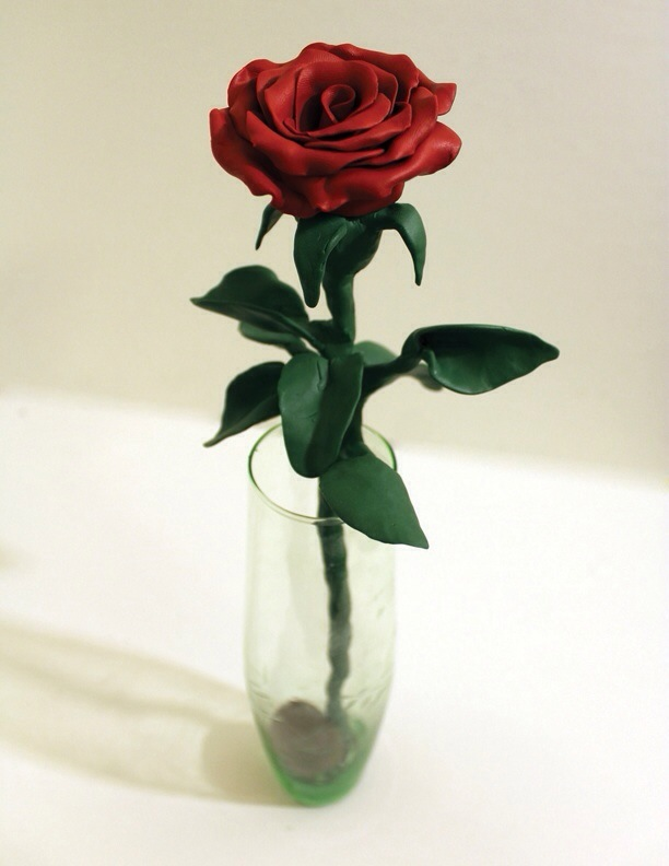 (The Rose: Sculpted and Photographed)