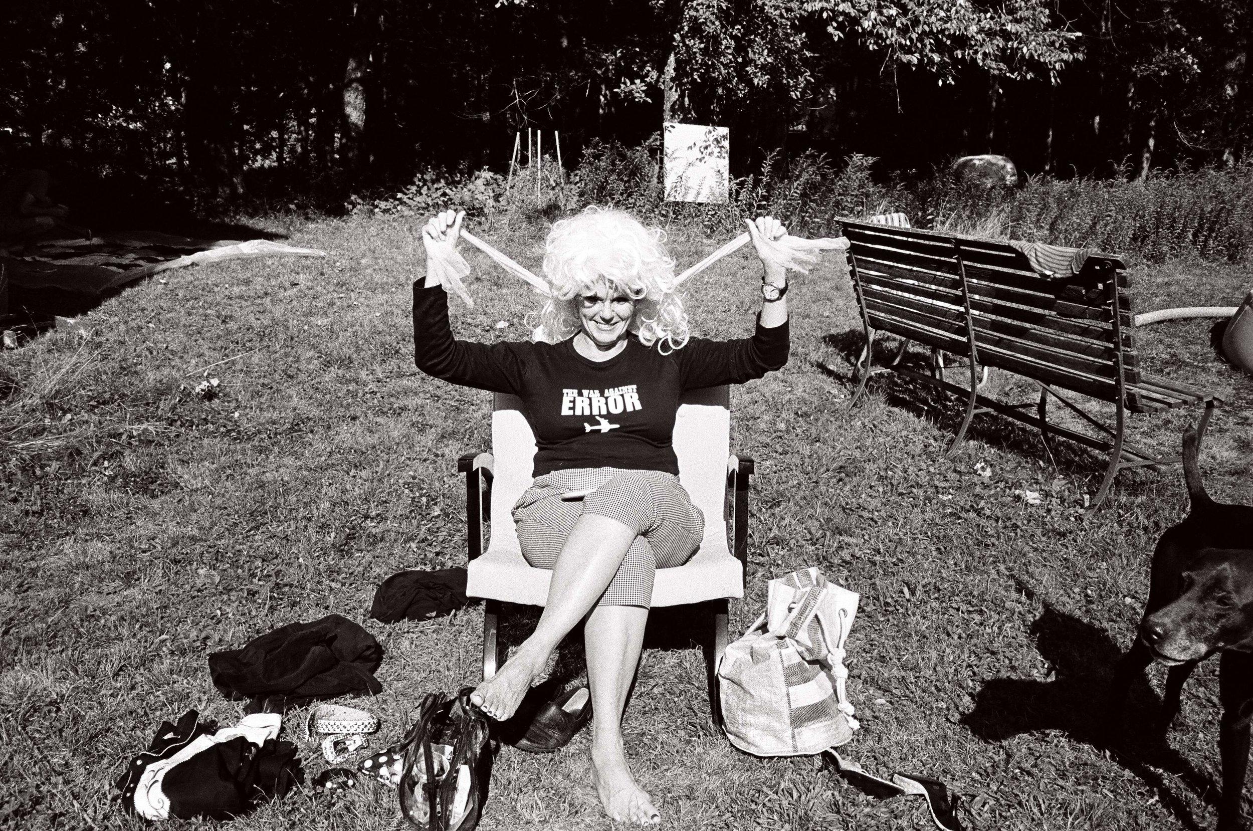 Tammy in upstate NY, 2006.