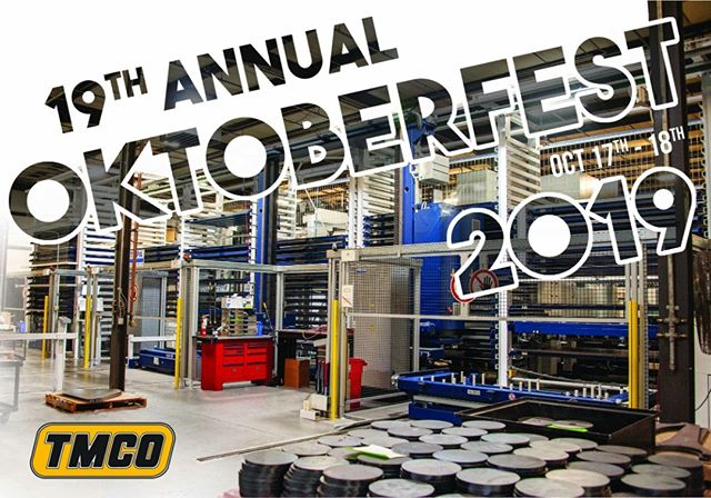 19th ANNUAL OKTOBERFEST is here.  See you there!  #tmco #metal #business #lincoln #nebraska #openhouse #manufacturing #2019 #oktoberfest #thursday #friday