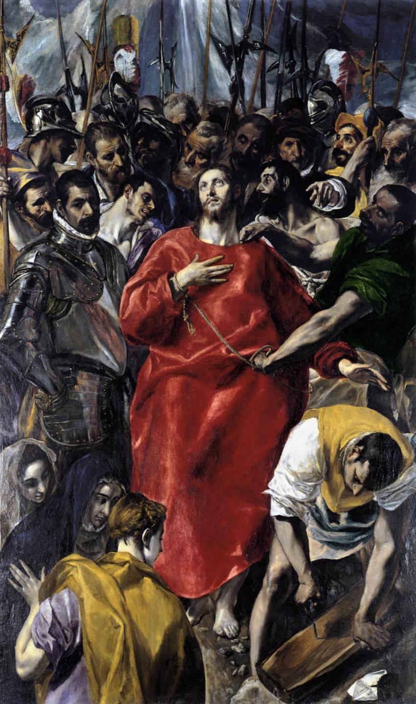 El Greco, The Expolio. Private Collection.