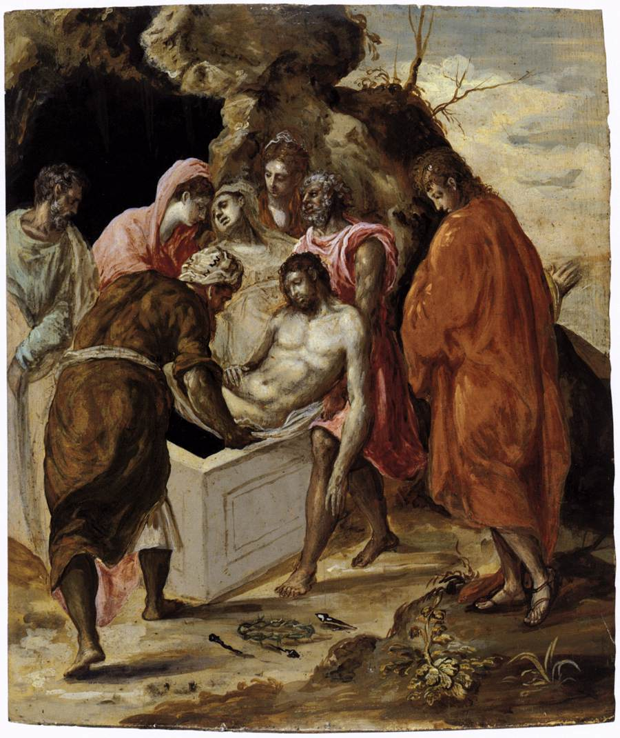 El Greco, The Entombment. National Gallery of Greece.