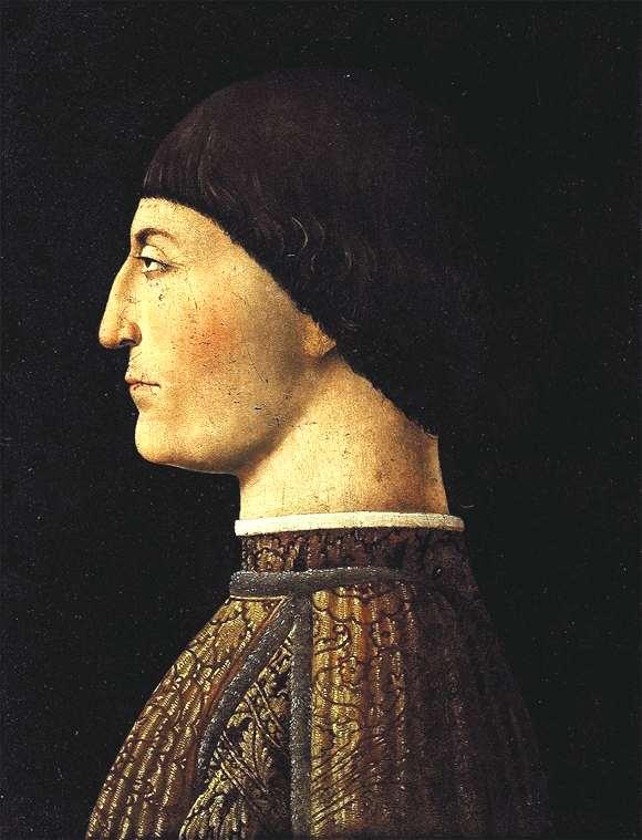 Piero della Francesca, Sigismundo Malatesta. The Louvre.