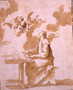 Jose Ribera, St. Cecilia. The Prado.