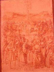 Raphael, Study for the Piccolimini Chapel. The Morgan Library.