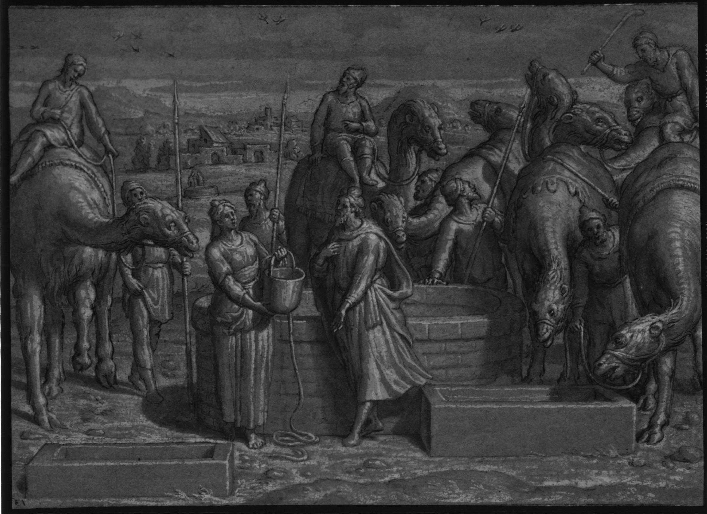 Pedro de Campana – Rebecca at the Well