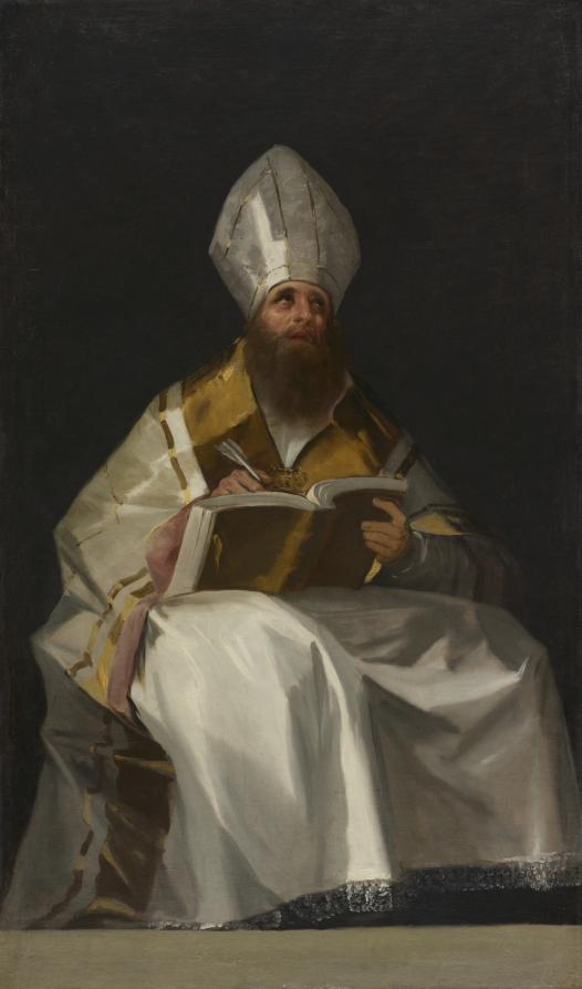 Francisco Goya, St. Ambrose. Cleveland Museum of Art.