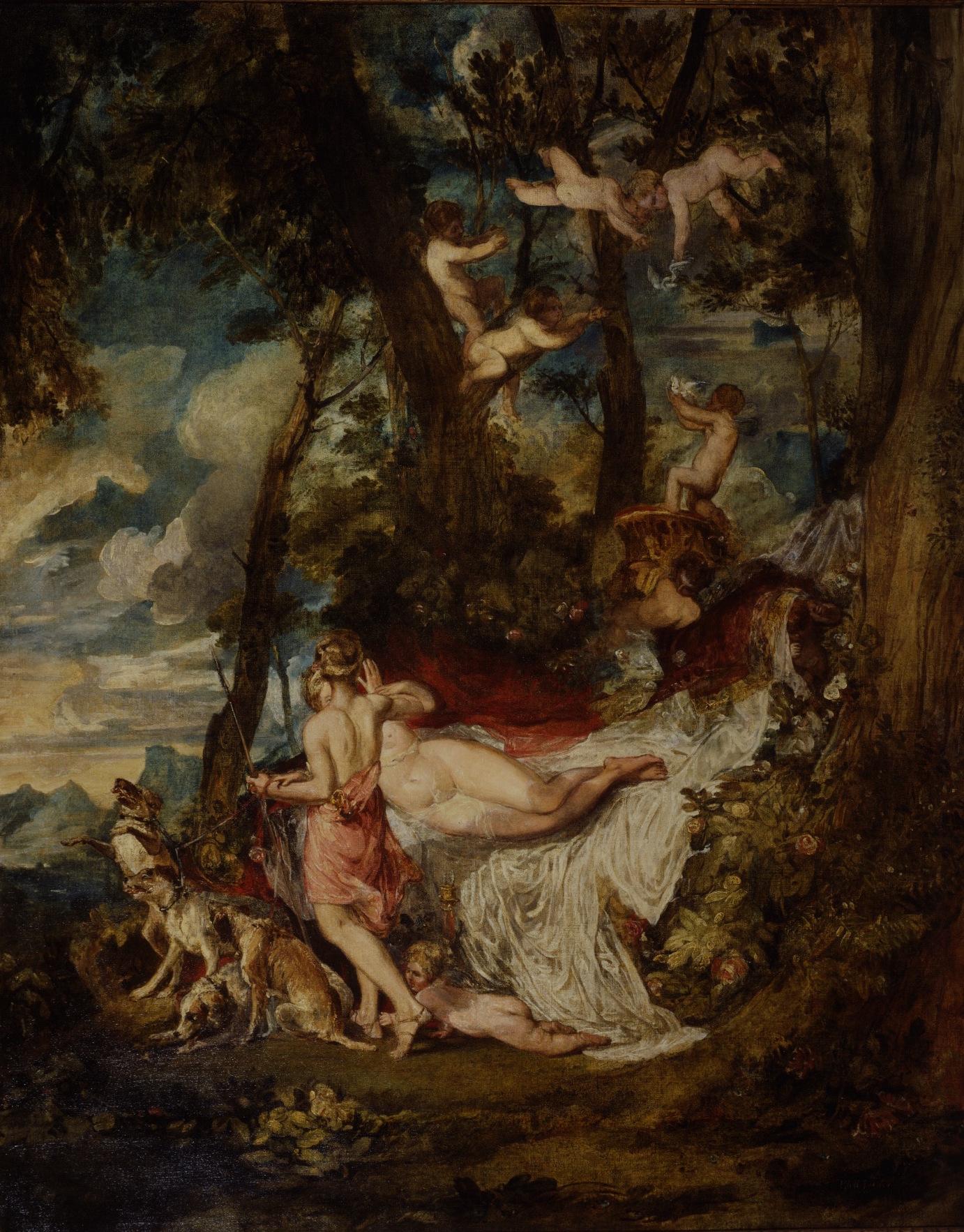 Joseph Mallord William Turner – Venus and Adonis