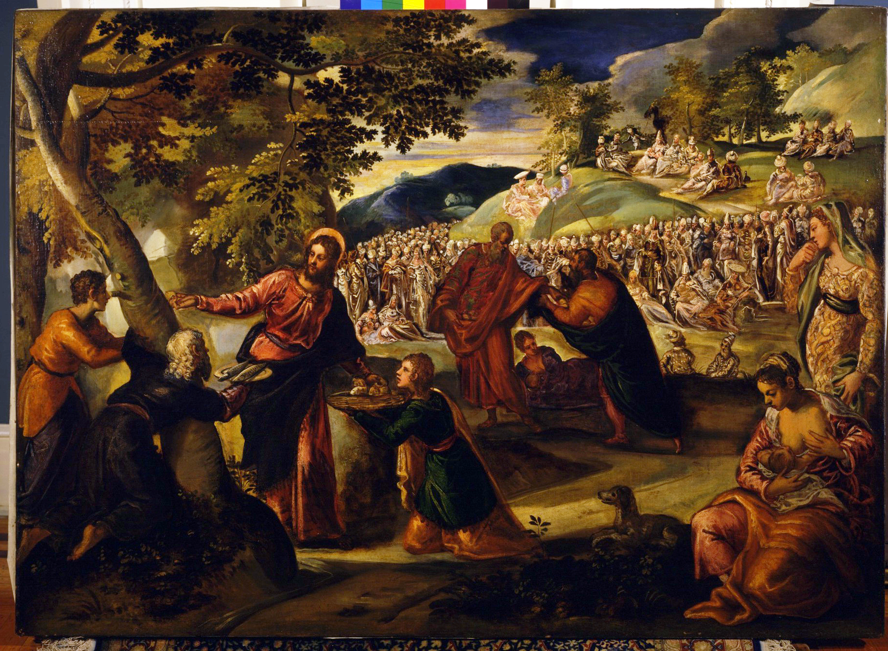 Tintoretto – The Miracle of the Loaves and Fishes