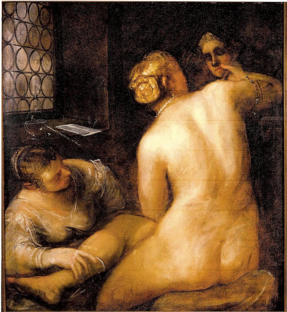 Tintoretto – The Toilet of Venus
