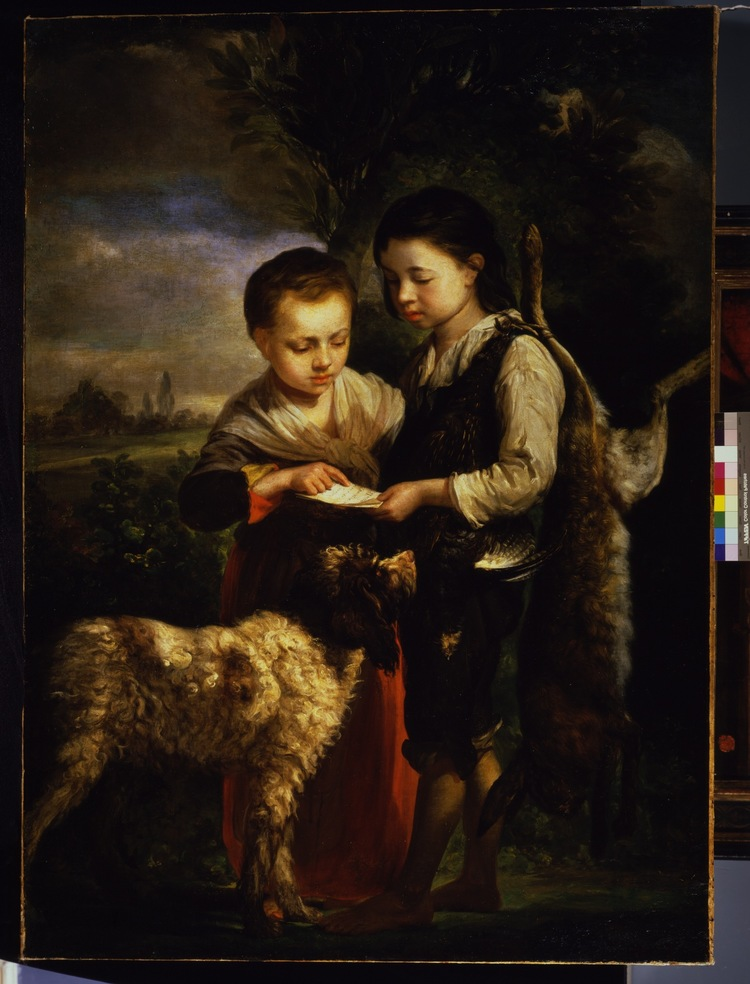 Pedro Nunez de Villavicencio – Children in Landscape
