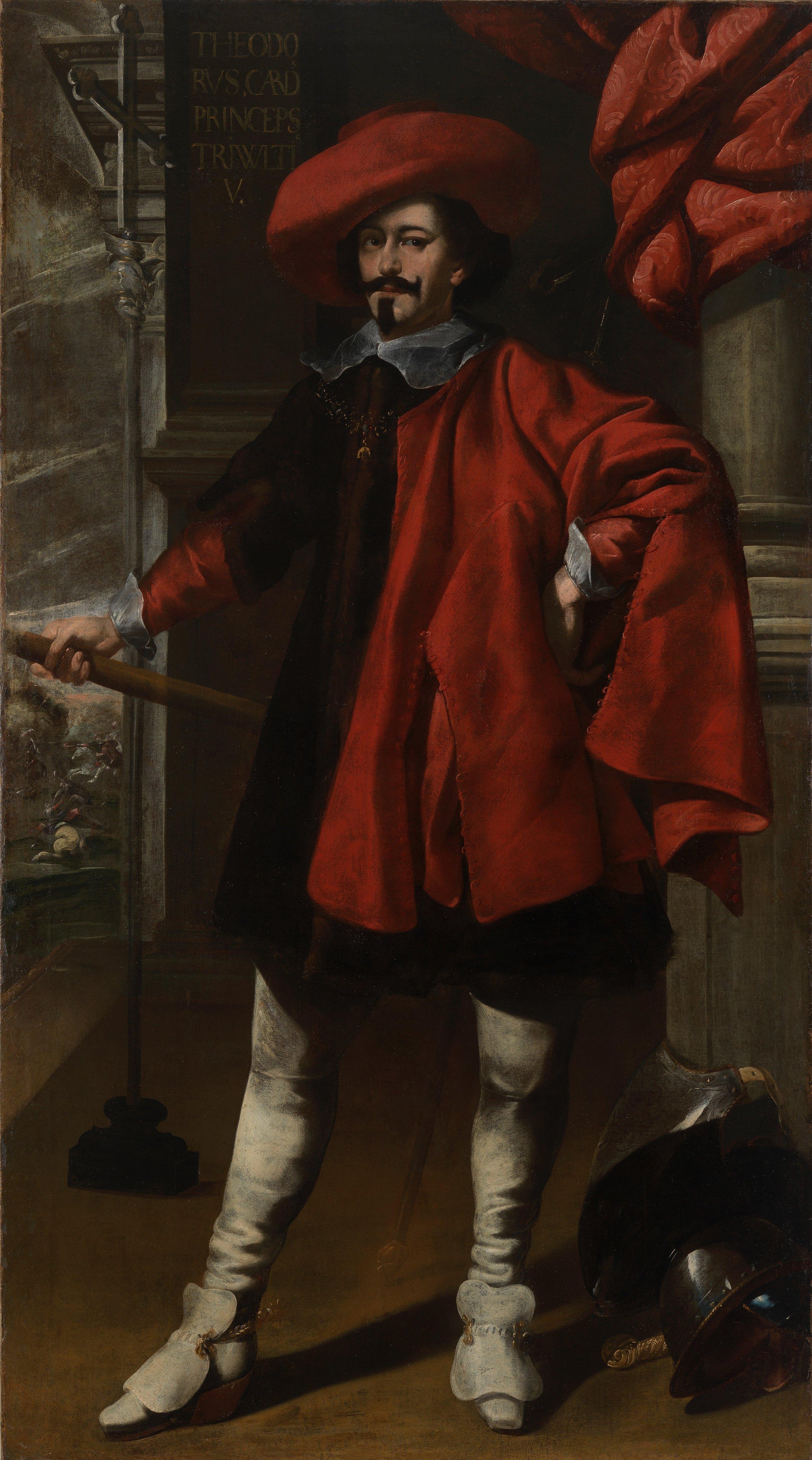 """Luigi Miradori, """"Il Genovesino"""" – Portrait of Giacomo Trivulzio"""
