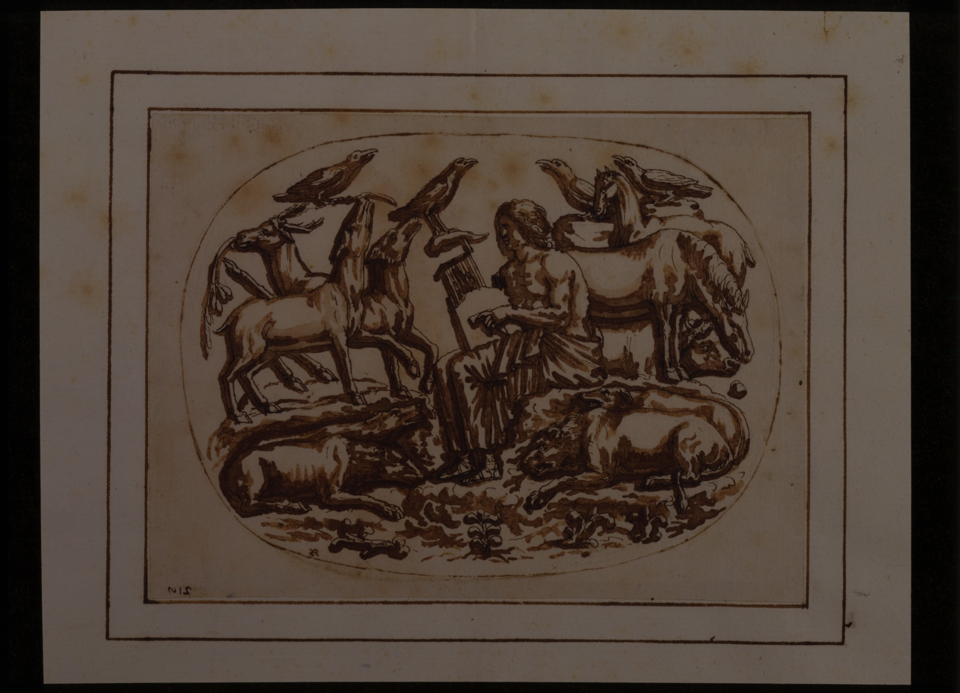 Cassiano dal Pozzo Collection – Orpheus and The Animals