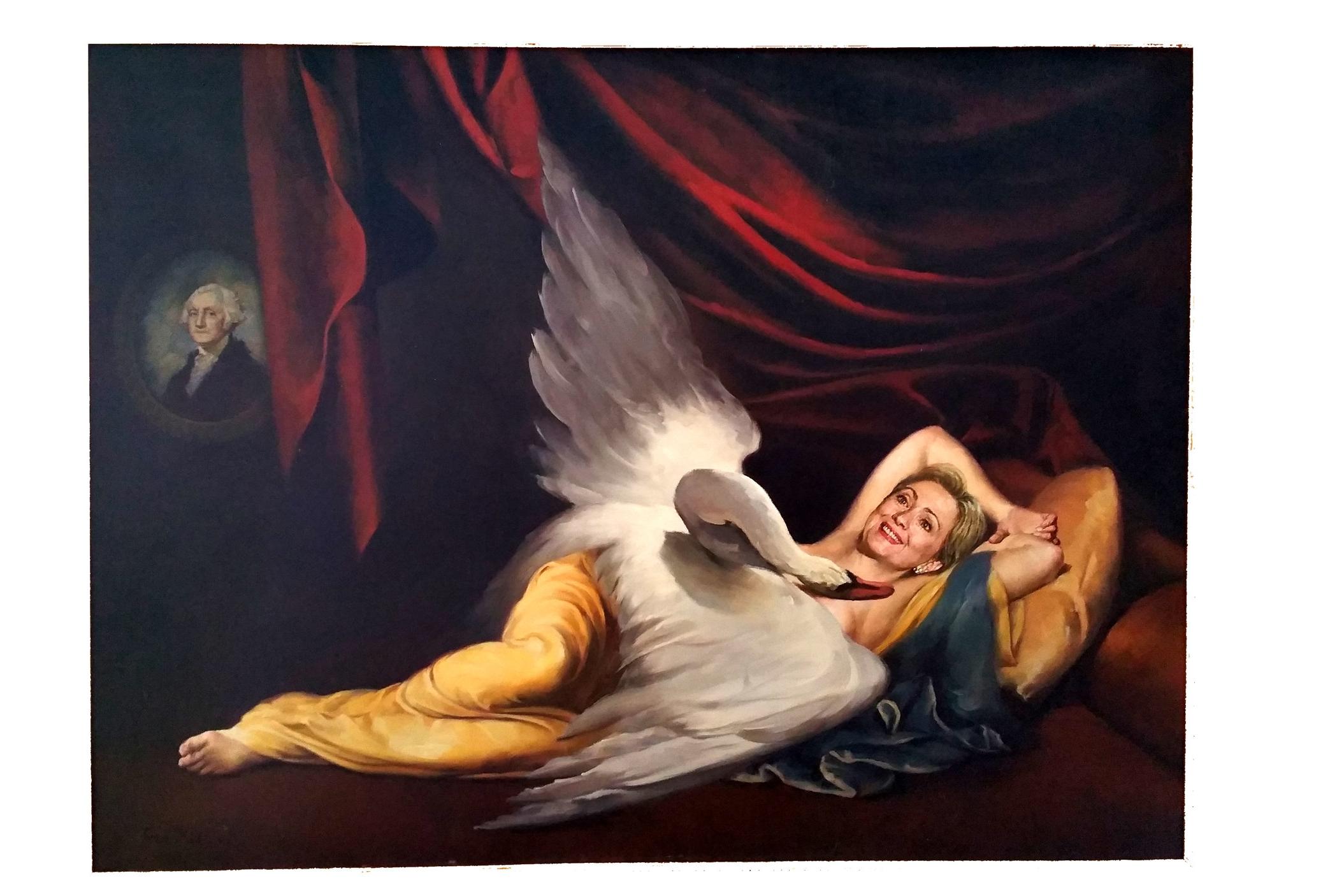 Fu Xu – Leda and the Swan