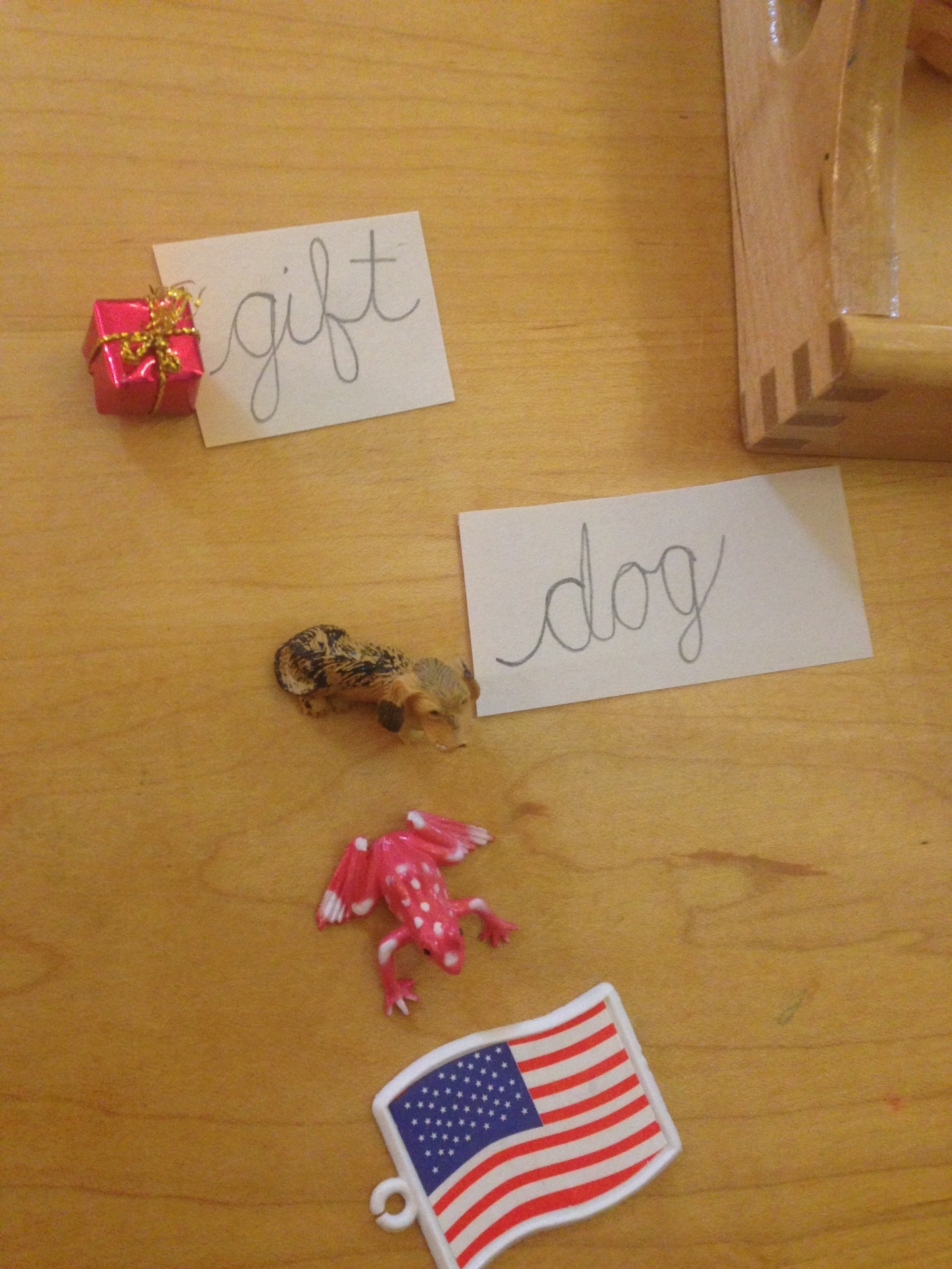 phonetic object game