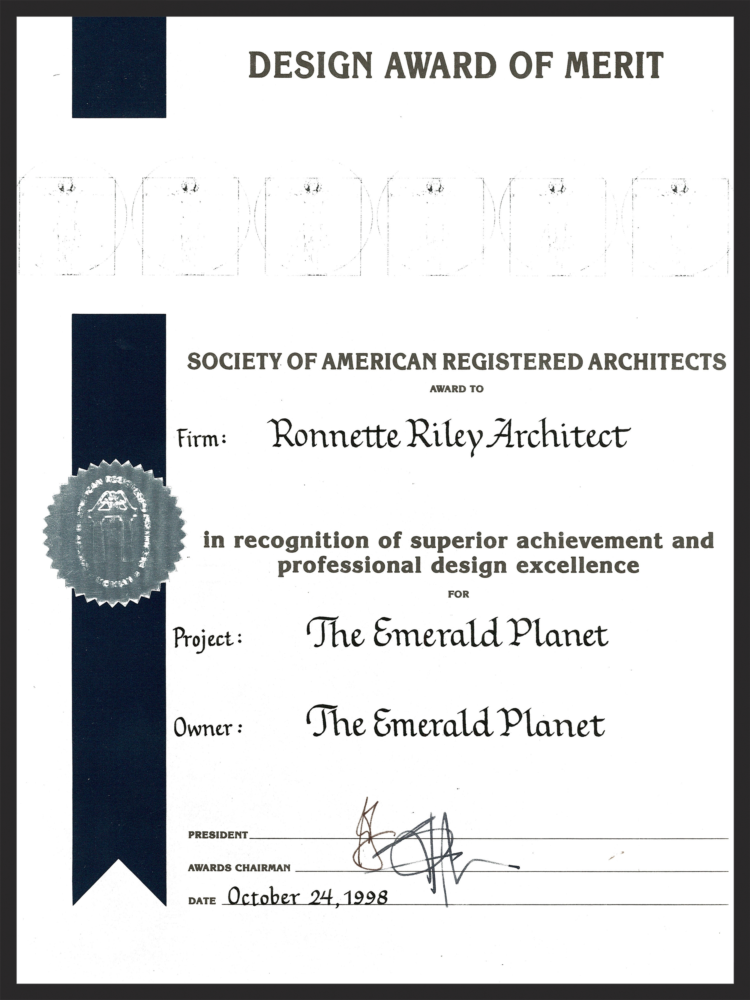 The Emerald Planet - SARA Merit Award.jpg