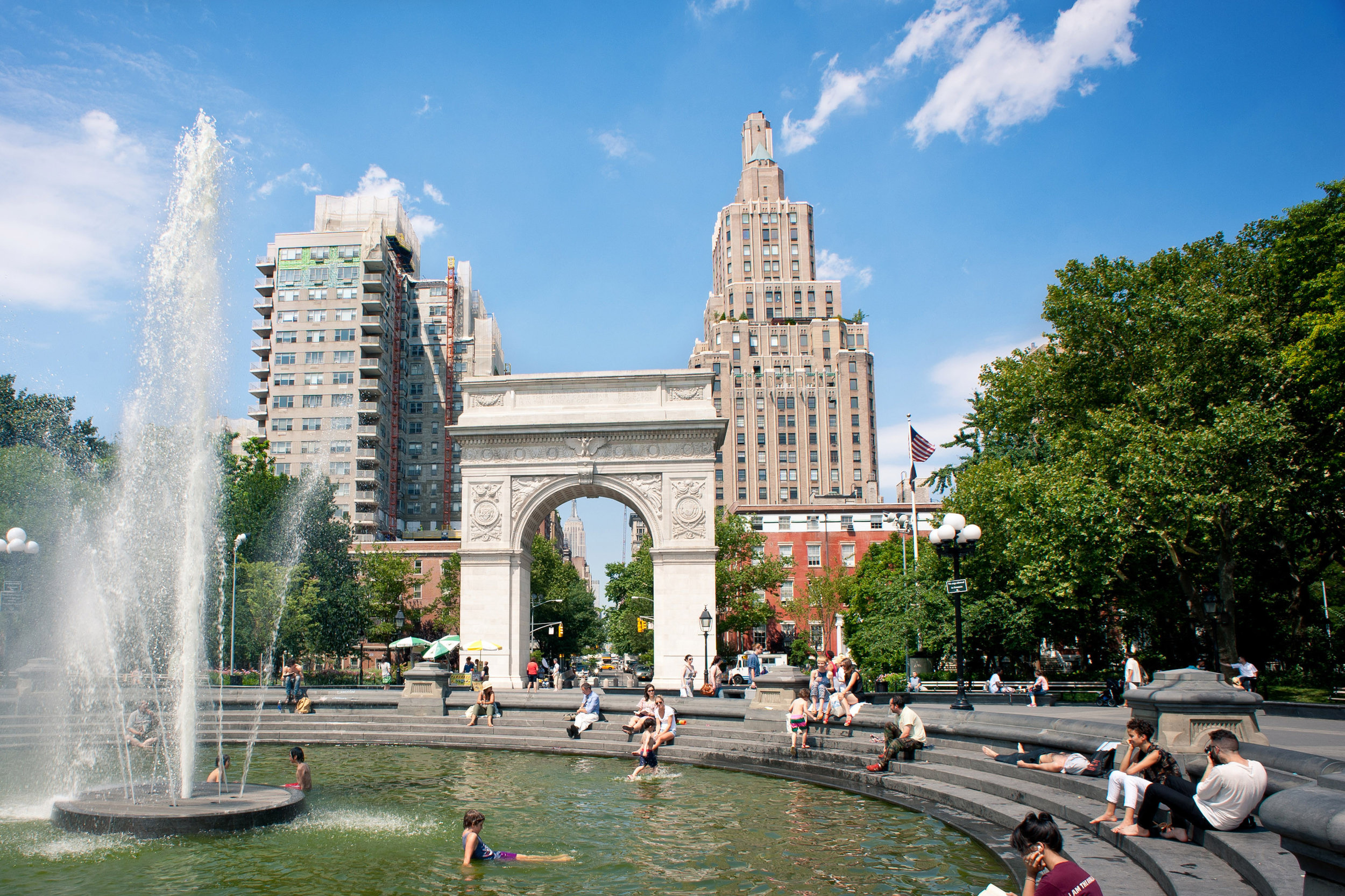 Washington Square Park, Manhattan