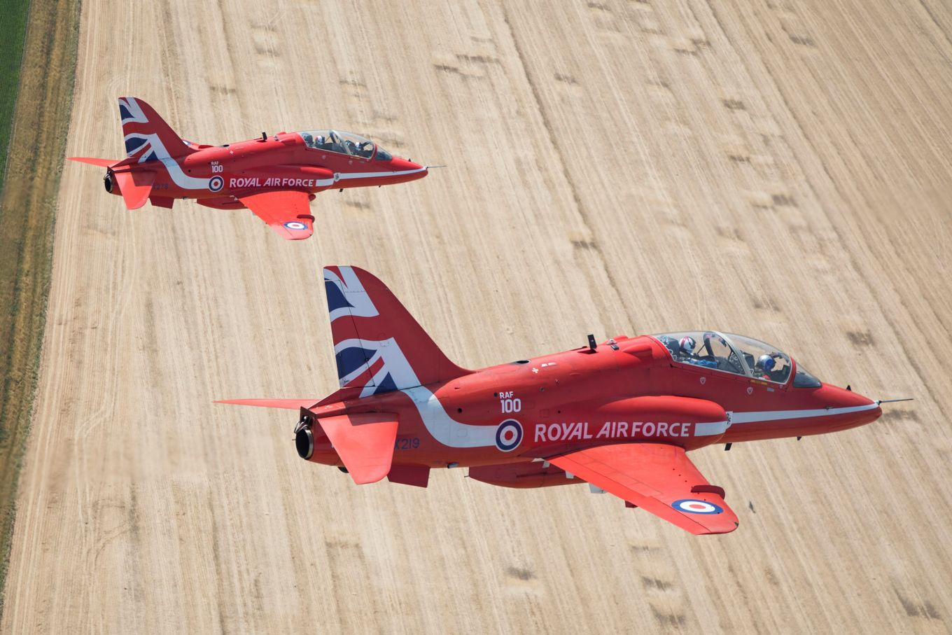 The Red Arrows just recently concluded their 2018 show season celebrating RAF100.