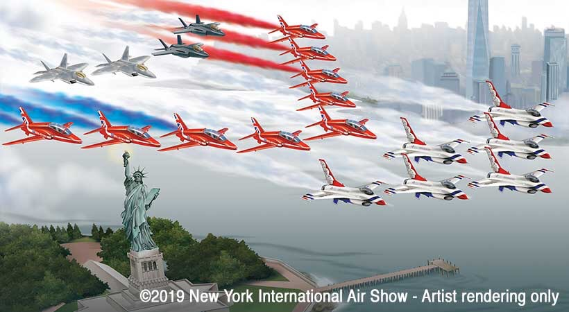 Photo courtesy of the New York International Air Show