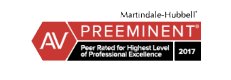David Selingo is ranked as a AV Preeminent Lawyer by Martindale-Hubbel
