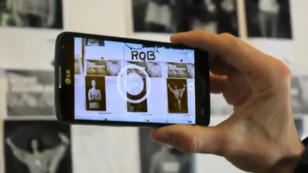 We-All-Wall-Changer - Interactive AR Project by Reinhold Bidner, 2014