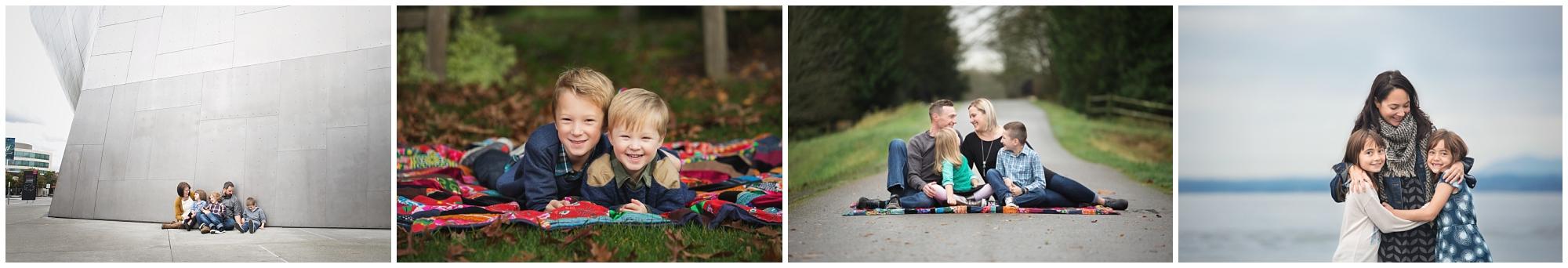 Family Photography Examples Everett Photographer