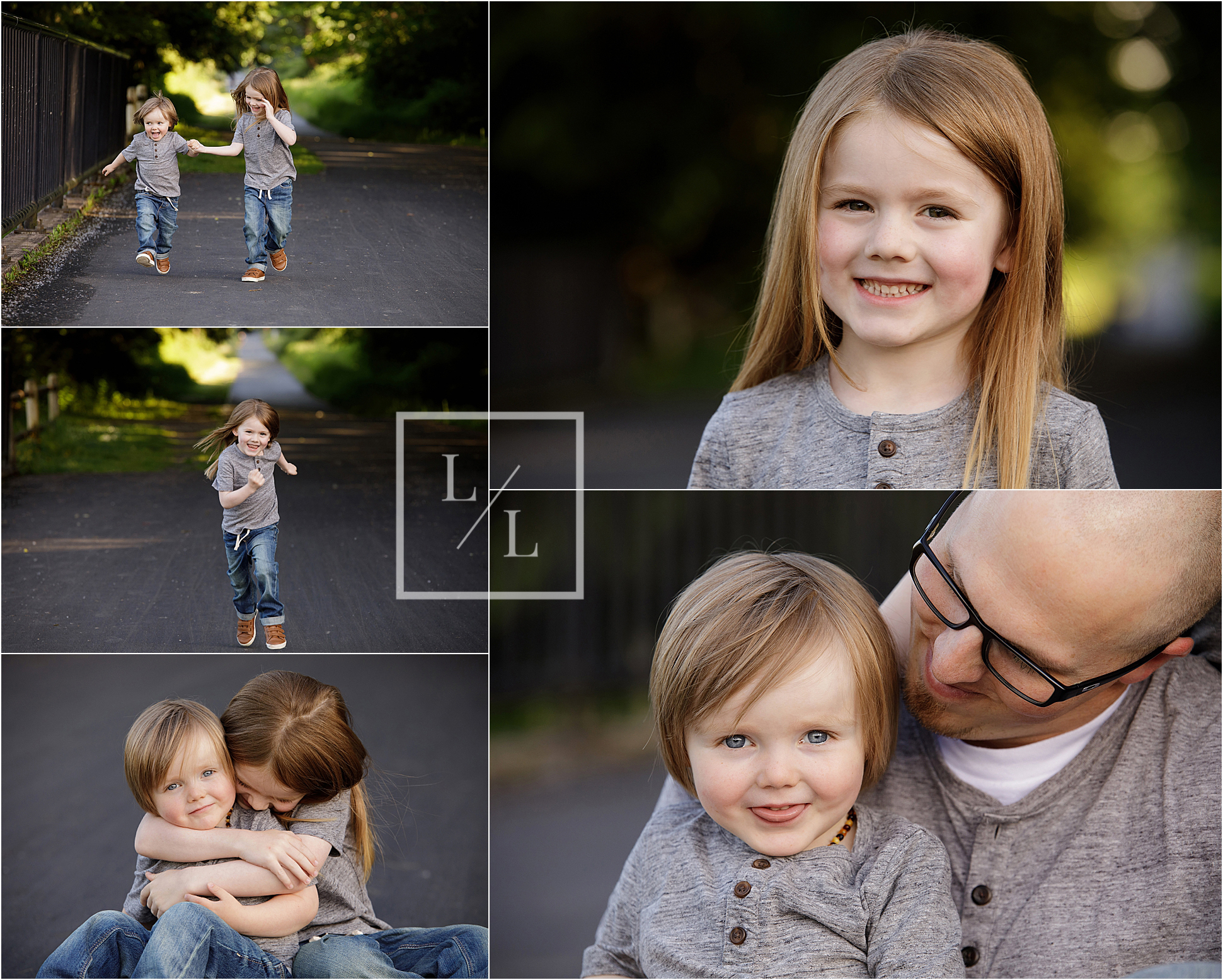 Snohomish Family Pictures Centennial Trail