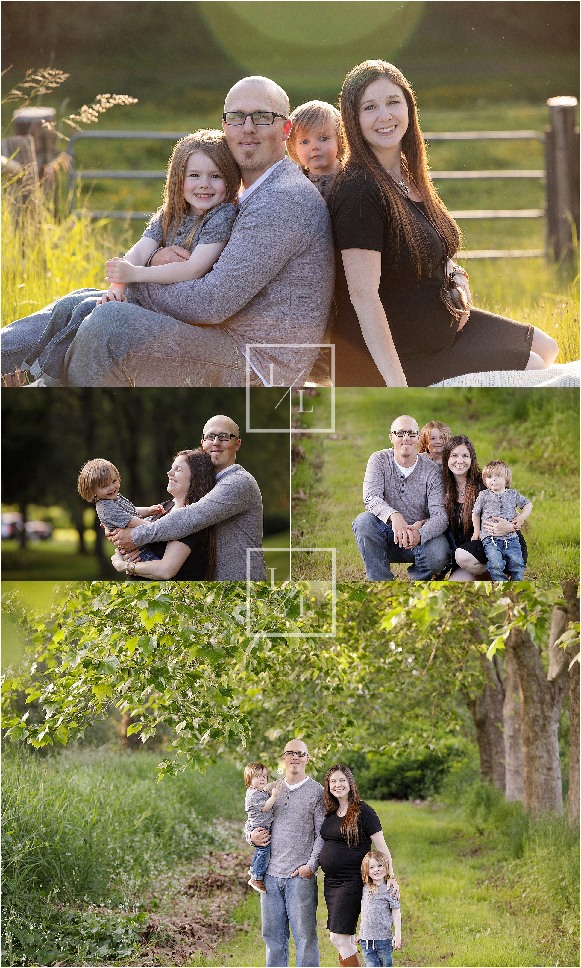 Family of 4 Pictures