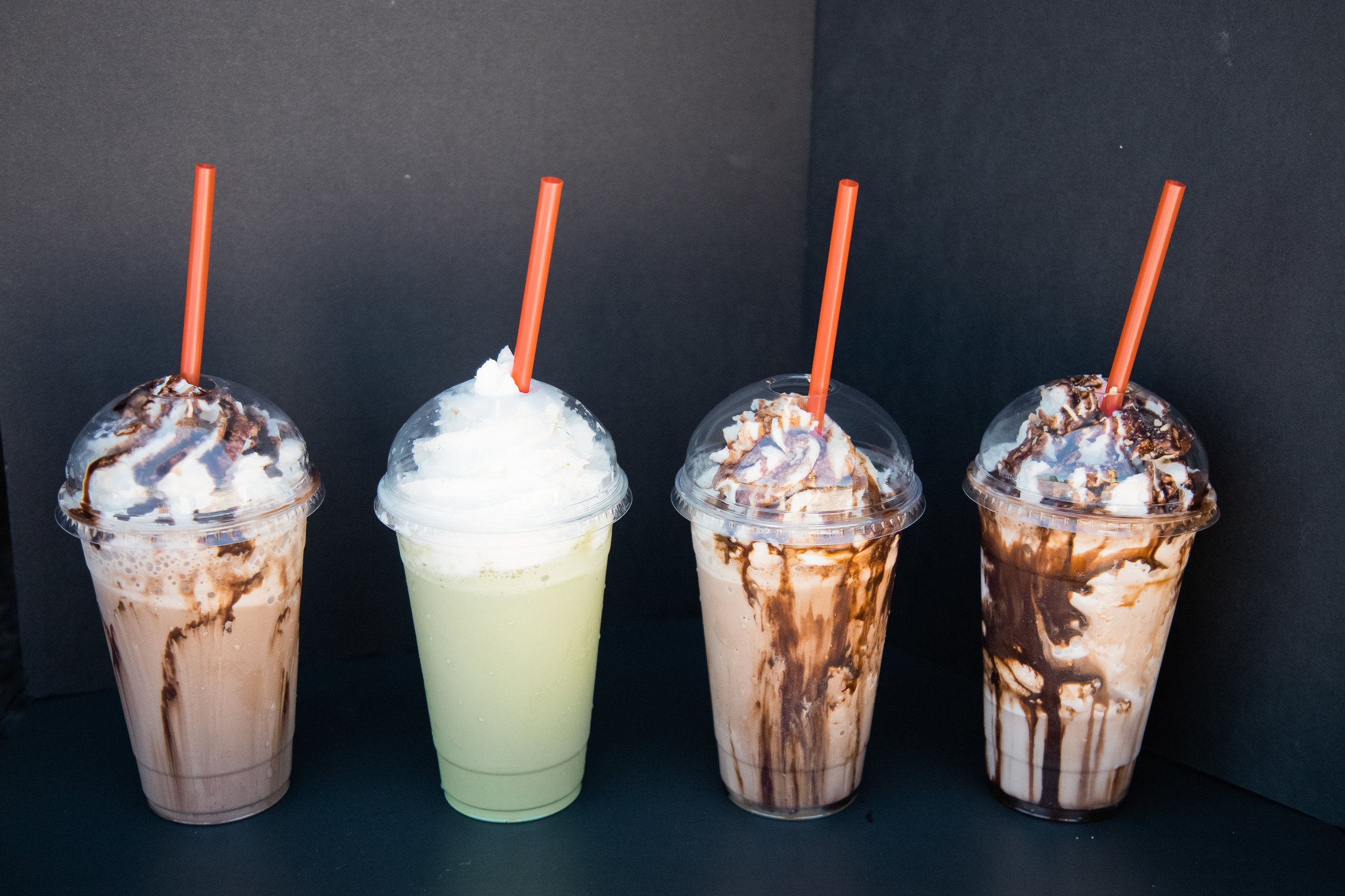 Frappes made with homemade whip!