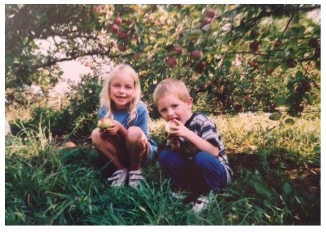 My brother and I as kids!