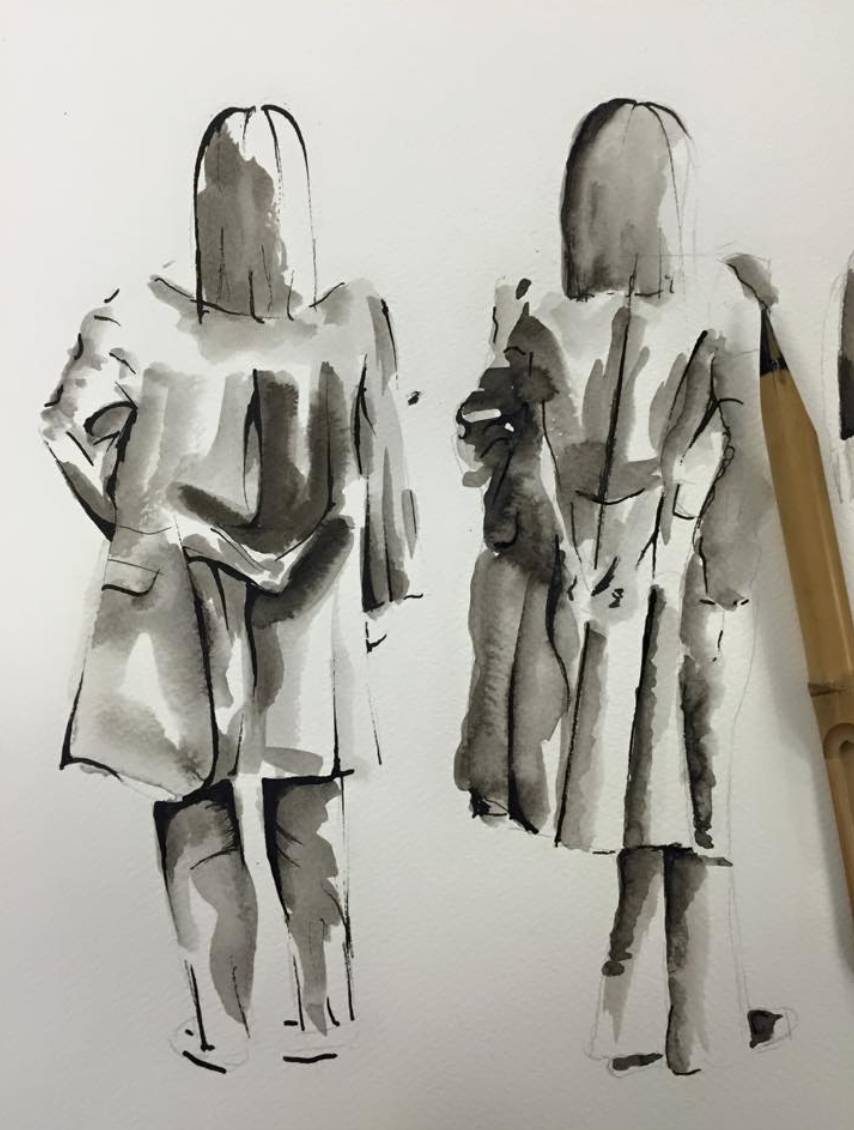 Some of my sketches from university