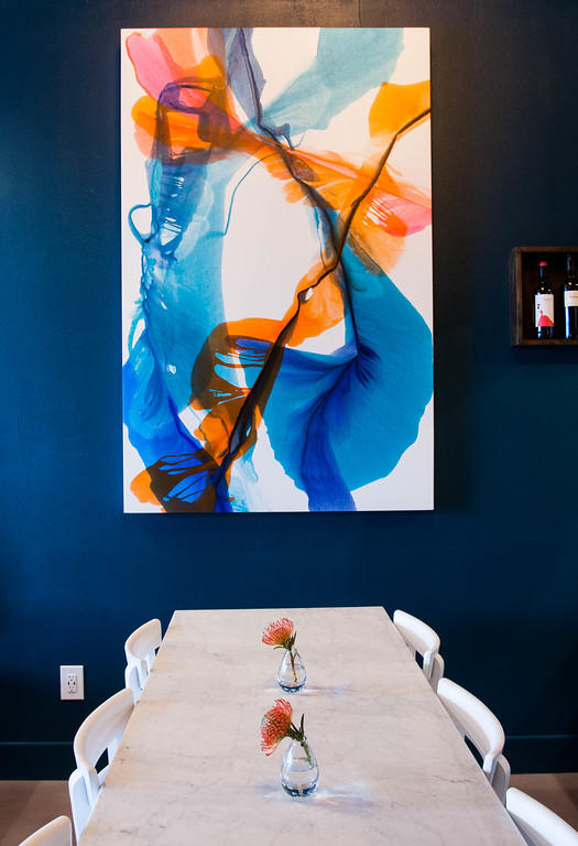 """Julio's Painting"" Art by Julie Underriner - Property of Epicure"