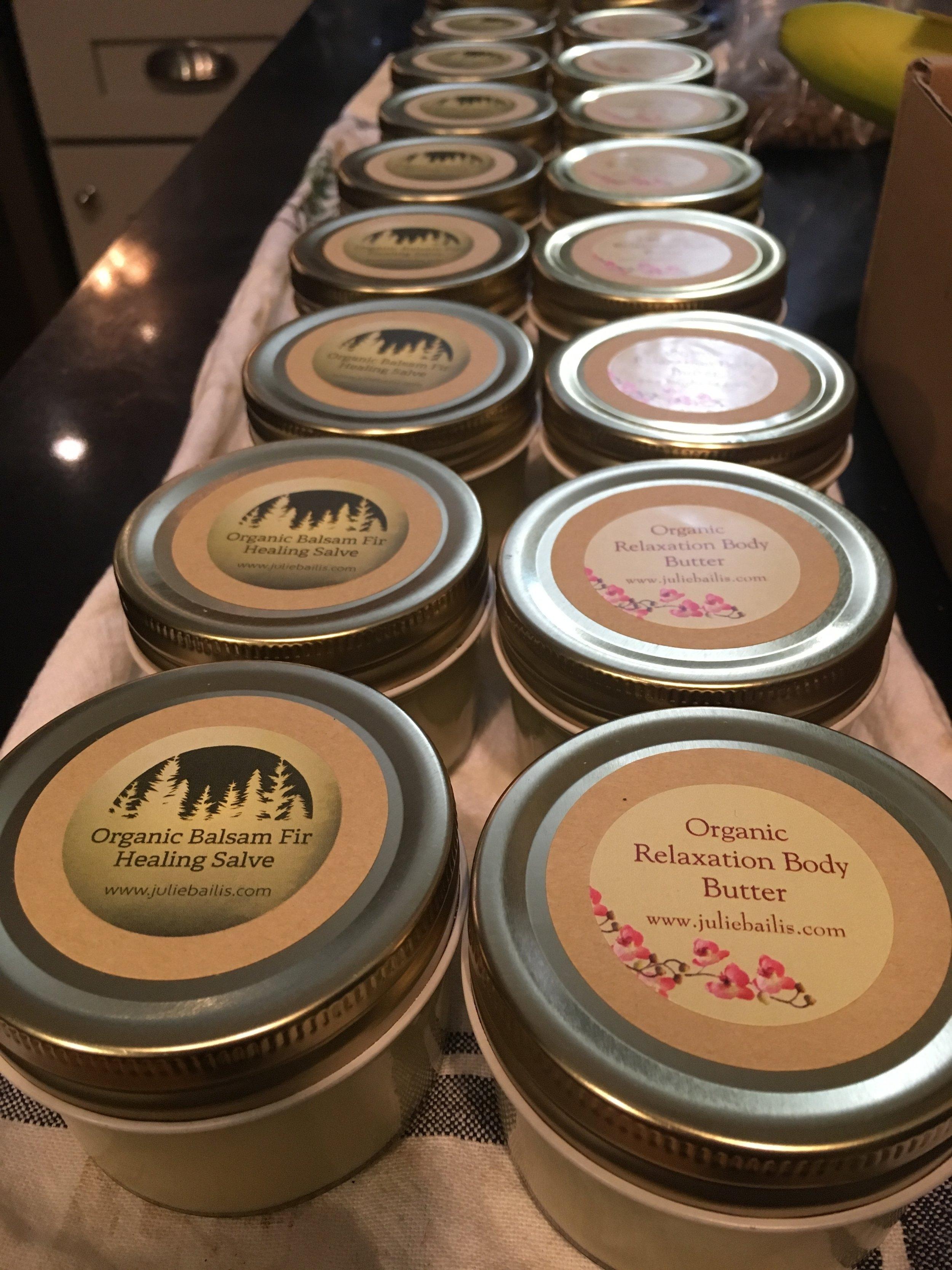 Balsam Fir & Relaxation Body Butters