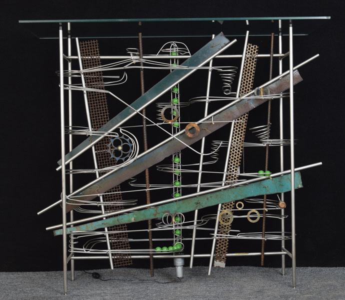 "Wall Hanging Sculpture   36″ x 41″ x 16"""