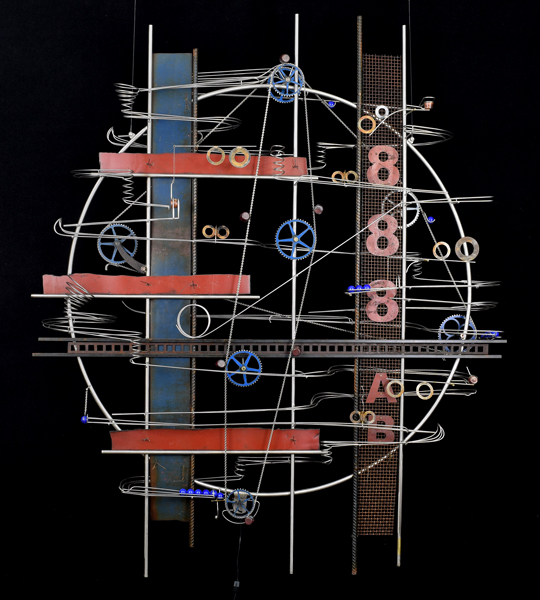 "Wall Hanging Sculpture   65″ x 55″ x 9"""