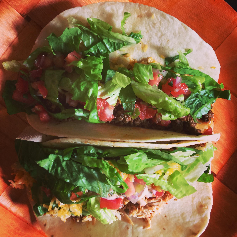 Seasoned Ground Beef Tacos